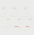 Timeline Infographic With set of Icons design vector image vector image