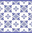 vintage tile pattern design vector image vector image
