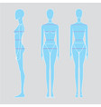 women body measurements image