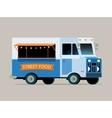food truck vector image