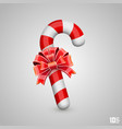 sweet hook with bow vector image