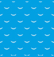 animal wing pattern seamless blue vector image