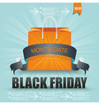 Black Friday sale design Eps10 vector image