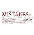 learn from your mistakes and so will your child vector image vector image
