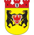 Mitte District vector image