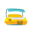 Pedal Boat Cartoon vector image vector image