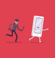 phone theft attack vector image