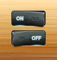 Realistic Switch vector image vector image