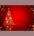 abstract christmas backgrpund vector image