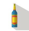 alcohol drinks beverages and bottle cocktail vector image vector image