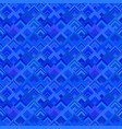 blue geometrical seamless diagonal square pattern vector image vector image