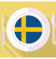 kitchen of Sweden vector image vector image