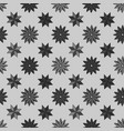 pattern shape star background with dark color vector image vector image