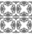 seamless black and white vintage texture with vector image vector image