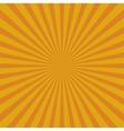 Yellow abstract sun rays Eps 10 vector image vector image