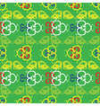 lizards pattern vector image