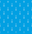 bottle of ketchup pattern seamless blue vector image vector image