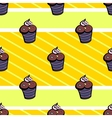MuffinPattern vector image vector image