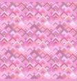 pink geometric diagonal square pattern - mosaic vector image vector image