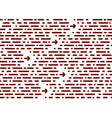 seamless chaotic pattern horizontal stripe vector image