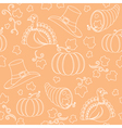 Thanksgiving pattern vector image