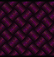 abstract deep pink geometrical dot pattern vector image vector image