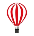 balloon air isolated icon design vector image vector image
