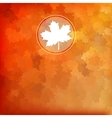 Bright autumn background EPS 10 vector image vector image