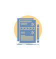 component data design hardware system glyph icon vector image