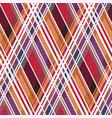 diagonal tartan seamless texture mainly in warm vector image vector image