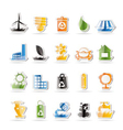 Ecology and nature icons vector | Price: 1 Credit (USD $1)