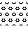 geometric seamless pattern rippled hexagons vector image vector image