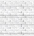 gray brick wall vector image vector image