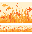 hot fish vector image vector image