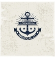 Inspirational template nautical style logo
