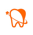 Logo Dental Healthy Care Tooth Protection Oral vector image vector image