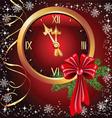 christmas chimes vector image