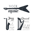 classical music free concert jazz festival rock vector image