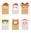 collection of cute cards collection of cute cards vector image vector image