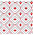 folk ornament seamless pattern vector image