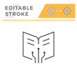 Online education editable stroke line icon