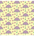 Romantic rain vector image vector image