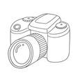 set of camera vector image vector image