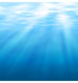 Undersea light vector image