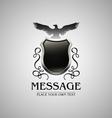 Vintage heraldry emblem1 vector image vector image