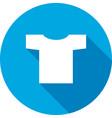 Tshirt icon Clothing symbol vector image