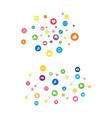 communication icon design vector image