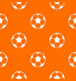 football or soccer ball pattern seamless vector image vector image