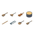 musical instrument icons in set collection for vector image