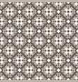 brown beige white seamless geometric pattern vector image vector image